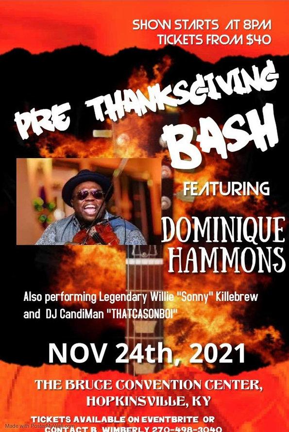 Pre Thanksgiving Bash