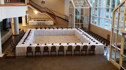 Lobby Set Up