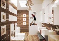 Ванная комната для 2-х детей