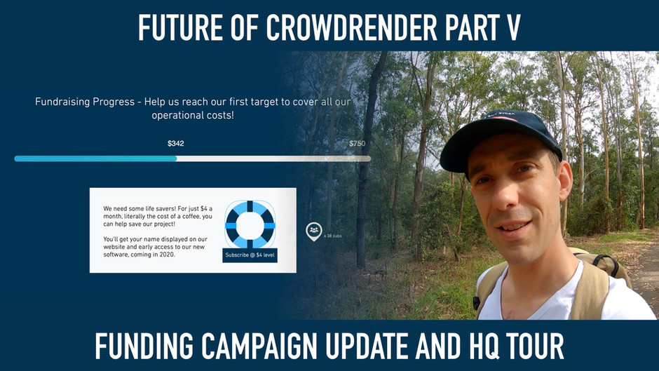 Part V of the Future of Crowdrender