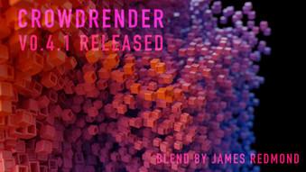Making Blender Faster with Crowdrender V0.4.1
