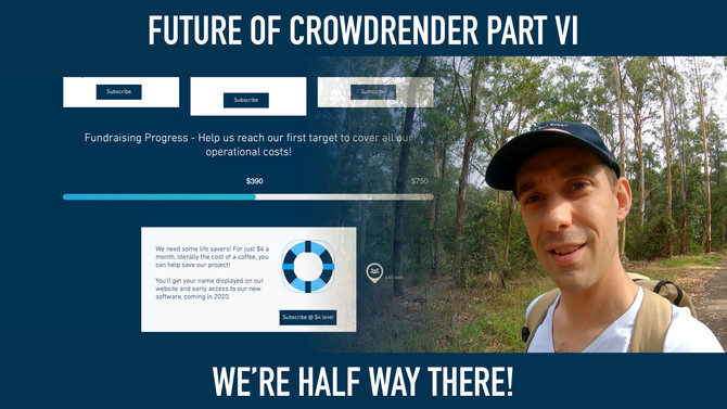 Future of Crowdrender part VI