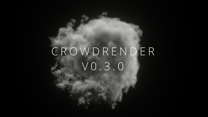 New UX for Rendering in Crowdrender