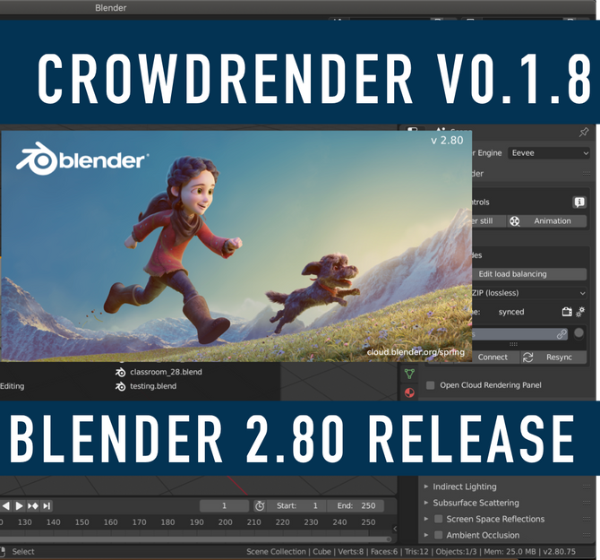 V018 Released | Bug fixes for Blender 2.80 compatibility