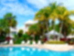 Anglers reef vacation rental pool Islamorada