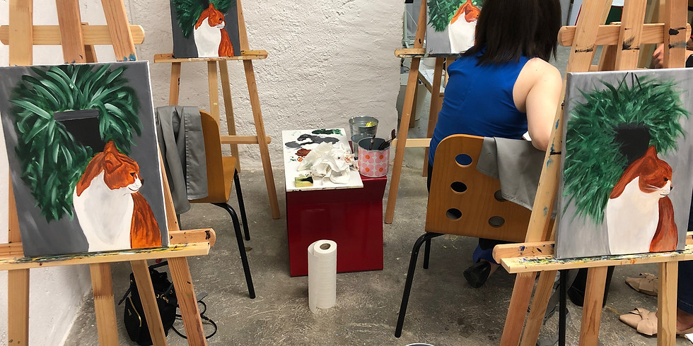 Paint it Easy: Painting Workshop with Wine