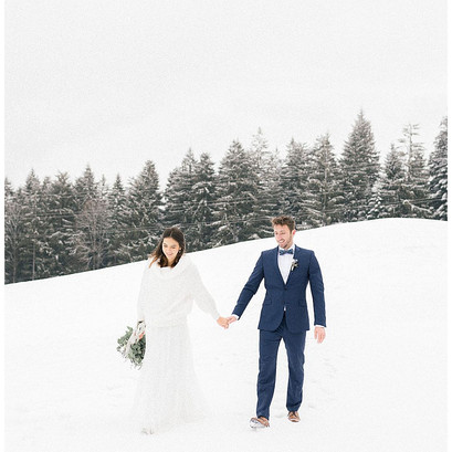 Winter Elopement in den Bergen