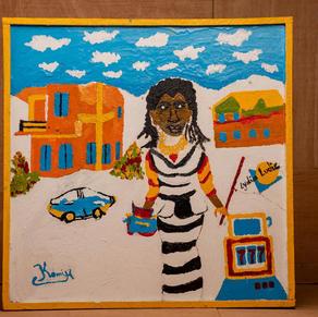 Paint for LYDIA LUDIC TALENTS - BURKINA FASO
