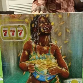 Pintura Lydia Ludic Talents - Togo