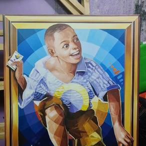 Pintura Lydia Ludic Talents - Costa de Marfil