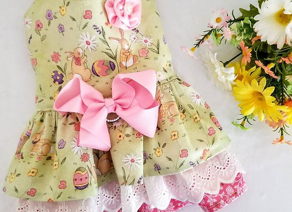 Ruffled Easter Dress