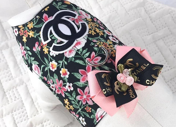 MultiColor Flower Designer Chanel Harness