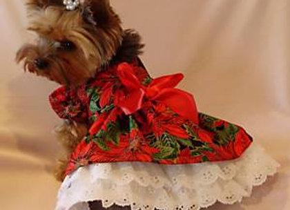 Poinsetta Lace Dress