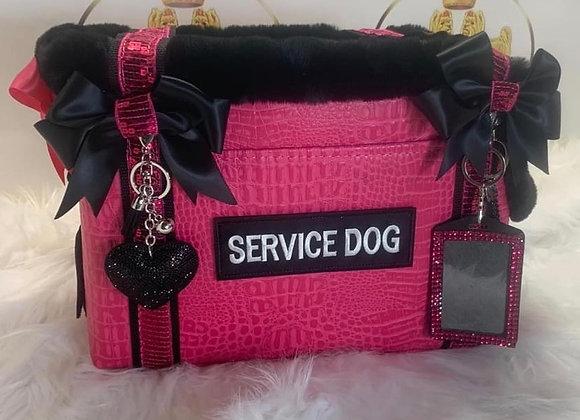 Service Dog Luxury Pet Carrier