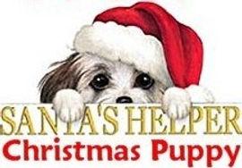 Santas helper christmas puppy free.jpg