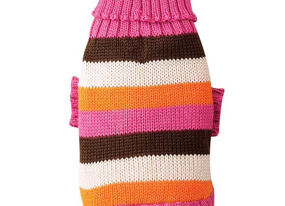 Striped Winter Knitted Sweater