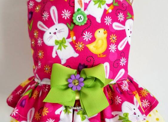 Bunny&Chick Easter Dress