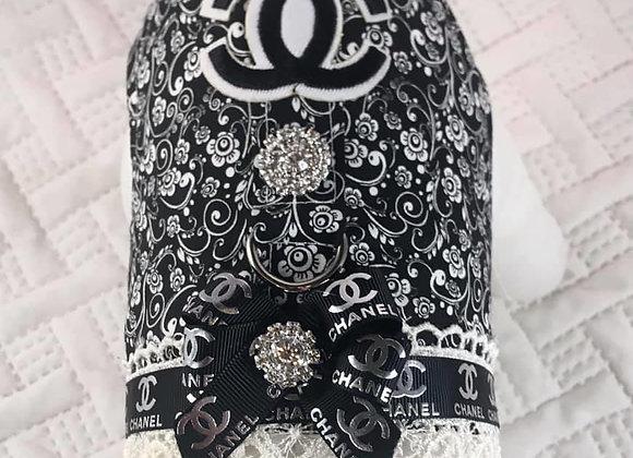 Black and White Designer Chanel Harness