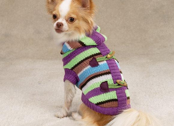 MultiColor Button Down Sweater