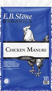 EB Stone Chicken Manure (1 cf bag)