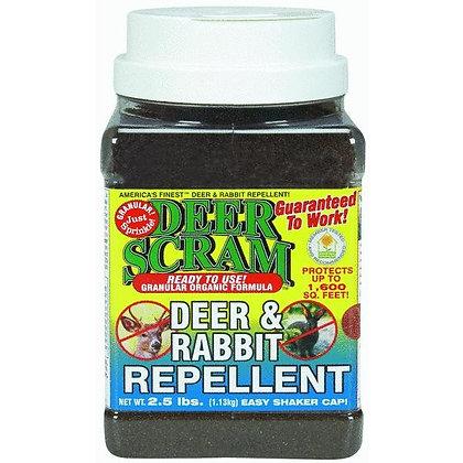 Deer Scram Deer & Rabbit Repellent (2.5lb)