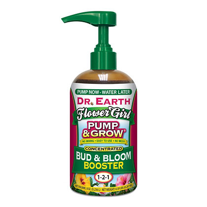 Dr Earth Pump & Grow Bud & Bloom Booster 1-2-1