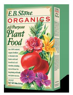 EB Stone All Purpose Plant Food 5-5-5 (4lb bag)