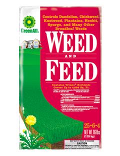 GreenAll Weed & Feed 25-6-4 (16lb)