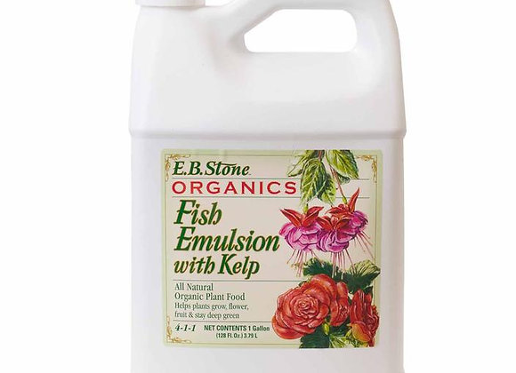 EB Stone Fish Emulsion with Kelp 4-1-1 (1 gal)