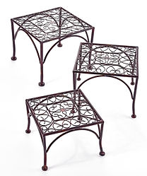 Iron Plant Stands Set/3