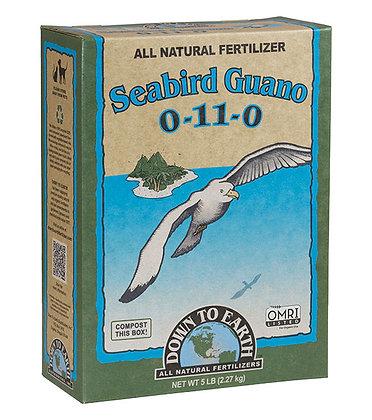 Down to Earth Seabird Guano 0-11-0 (5lb box)
