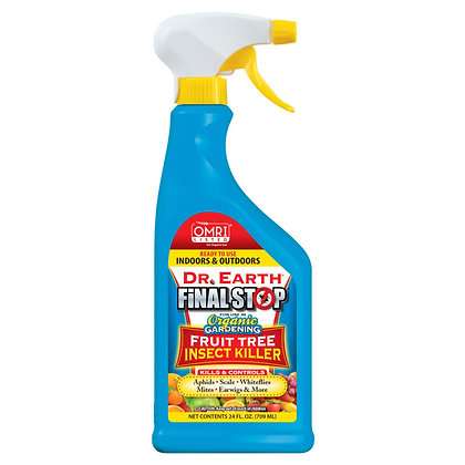 Dr Earth Final Stop Fruit Tree Insect Killer RTU