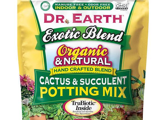 Dr Earth Cactus and Succulent Soil (8qt)