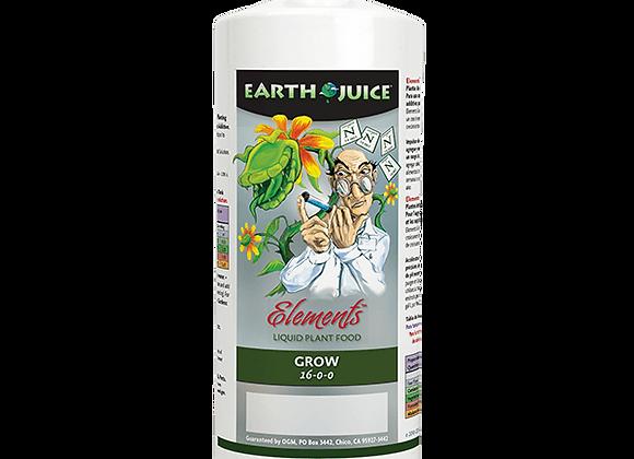 Earth Juice Elements Grow 16-0-0 (1qt)
