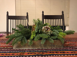 Mixed Greens Table Planter