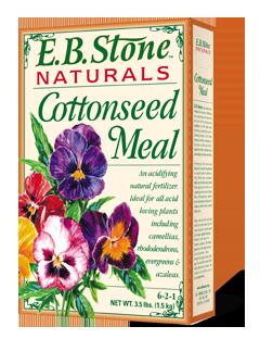 EB Stone Cottonseed Meal 6-2-1 (3.5 lb bag)