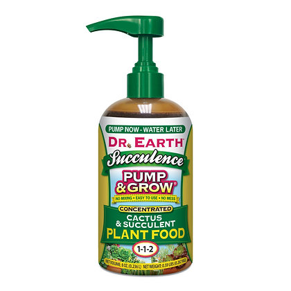 Dr Earth Pump & Grow Cactus & Succulent Plant Food 1-1-2