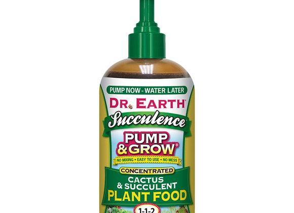 Dr Earth Pump & Grow Cactus & Succulent Plant Food 1-1-2 (8oz)