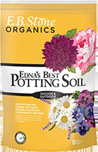 EB Stone Edna's Best Potting Soil (8 qt bag)