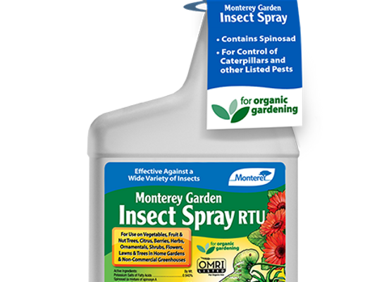 Monterey Garden Insect Spray RTU (32 oz)