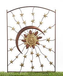 Iron Trellies w/Sun/Moon&Stars