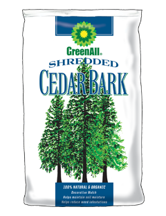 GreenAll Shredded Cedar Bark (3 cf bag)