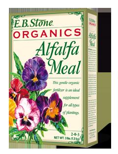 EB Stone Alfalfa Meal 2-0-3 (3 lb box)