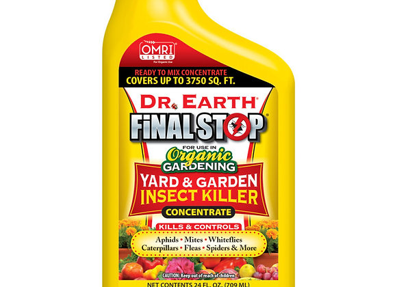 Dr Earth Final Stop Yard & Garden Insect Killer Concentrate