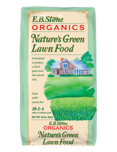 EB Stone Nature's Green Lawn Food 10-1-4 (20lb bag)