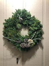 Mixed Green Wreath Handcrafted in Damascus, OR