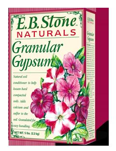 EB Stone Granular Gypsum (5lb bag)