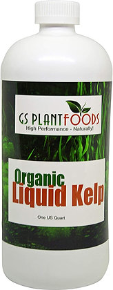 GS Plant Foods Organic Liquid Kelp Conc (1qt)