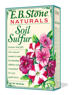 EB Stone Soil Sulfur (5lb box)