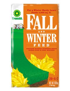 GreenAll Fall and Winter Feed 20-6-7 (16 lb bag)